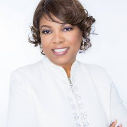 Guest minister, Dr Billie Cox of Macedonia Baptist Church, Conyers, GA